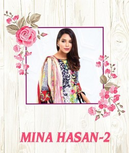 MAHI CREATION MINA HASAN VOL 2 PAKISTANI SALWAR SUITS DEALER KARACHI SUITS