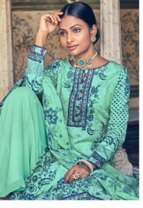 LEVISHA MUZLIN COTTON SALWAR KAMEEZ UK COTTON DRESS MATERIALS