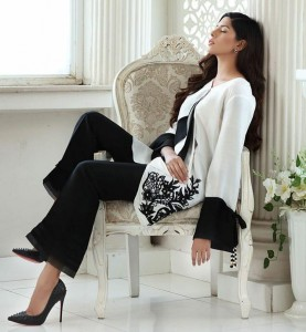 LUXURY PRET COLLECTION IN BLACK AND WHITE SURAT SUITS ONLINE SINGLES SALWAR KAMEEZ