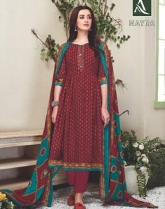 ALOK NAYRA PURE PASHMINA SUITS MANUFACTURER PASHMINA SUITS