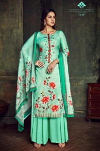 BELLIZA BLUSH PASHMINA SUITS MANUFACTURER PASHMINA SUITS