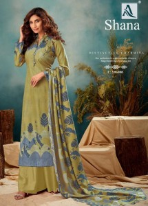 ALOK SHANA PASHMINA SUITS WHOLESALER PASHMINA SUITS