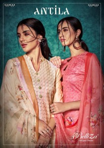 BELLIZA DESIGNER ANTILA PASHMINA SUITS MANUFACTURER PASHMINA SUITS