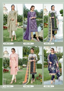 ISHAAL PRINTS GULMOHAR VOL 11 BEST PRICE KARACHI SUITS