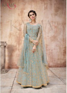 KARMA 16022 SERIES ANARKALI SUITS WHOLESALER ANARKALI SUITS