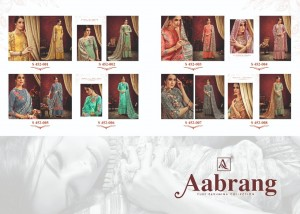 ALOK AABRANG PASHMINA SUITS MANUFACTURER IN SURAT PASHMINA SUITS