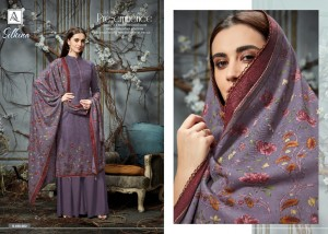 ALOK SILKINA PASHMINA SUITS WHOLESALER PASHMINA SUITS