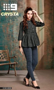 CHANNEL 9 CRYSTA COTTON CLASSIC TRENDY LOOK TOPS CATALOG