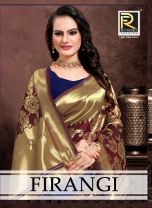 RONISHA FIRANGI AFFORDABLE PRICE SAREE CATALOG