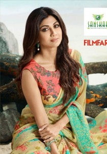 SANSKAR FILMFARE BRASSO BEAUTIFUL PRINT SAREE CATALOG