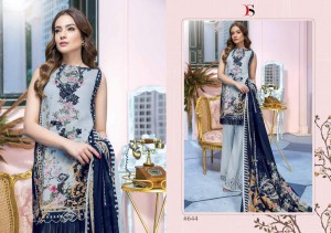 DEEPSY SUITS FIRDOUS VOL 8 PRINTED PAKISTANI DRESS MATERIAL WHOLESALER AT SURAT