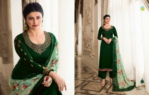 VINAY FASHION KASEESH HASEENA SATIN FESTIVAL LOOK SALWAR SUIT CATALOG
