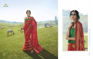 SANSKAR RAHI 8 CHIFFON ATTRACTIVE SAREE CATALOG