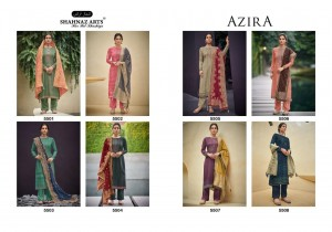 SHAHNAZ ARTS PRESENTS AZIRA SELF WOVEN PASHMINA DIGITAL PRINT WITH HANDWORK SALWAR KAMEEZ