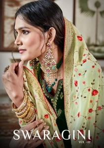 MAISHA MASKEEN PRESENTS SWARAGINI VOL 2 FALCON VELVET FANCY DESIGNER SALWAR SUITS