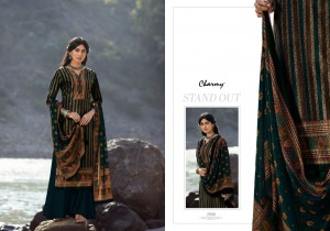 MEERA TRENDZ PRESENTS CHARMY VELVET VOL 3 WINTER WEAR WARM SUITS COLLECTION