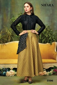 NITARA FASHION PRESENTS SPARKLES VOL 3 FANCY READY TO WEAR TOPS WITH SKIRTS COLLECTION