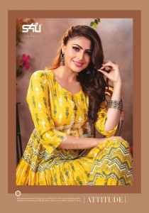 S4U BY SHIVALI LAUNCH FLAIRY TALES VOL 3 COTTON LONG GOWN STYLE STYLISH EXCLUSIVE KURTI
