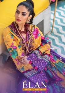 DEEPSY SUITS LAUNCHED ELAN PRINTED KARACHI DRESS MATERIAL COTTON COLLECTION