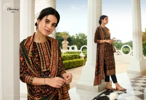 MEERA TRENDZ LLP CHARMY VELVET-1 VELVET DIGITAL PRINT EXCLUSIVE PRINT SALWAR SUIT CATALOGUE