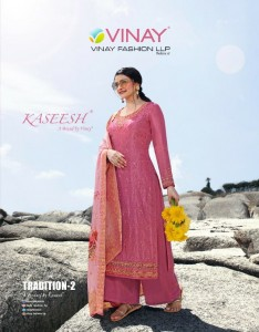 VINAY FASHON KASHEESH TRADITION 2 TUSSAR SATIN DIGITAL PRINTED EXCLUSIVE PARTY WEAR SALWAR SUITS