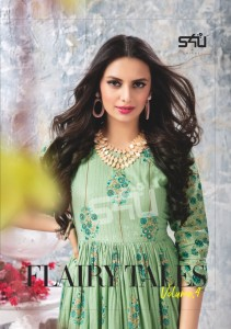 S4U BY SHIVALI PRESENTS FLAIRY TALES VOL 4 WINTER FASHION COTTON STYLISH LONG KURTI COLLECTIONS