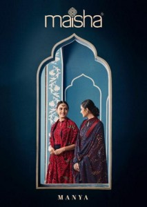 MAISHA PRESENTS MANYA PURE UPADA WITH HEAVY EMBROIDERY WORK CHARMING LOOK BRANDED SUITS