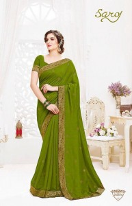 MAGICAL VOL 2 BY SAROJ VICHITRA SILK STYLISH LATEST SAREE ONLINE WHOLESALER IN INDIA