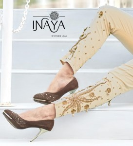 LIBAS STUDIO INAYA PRESENTS CIGARETTE 20 PURE STRETCHABLE COTTON STYLISH PANT SELLER