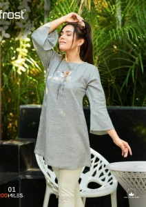 100 MILES FROST COTTON CATCHY LOOK TOPS WHOLESALE CATALOGUE