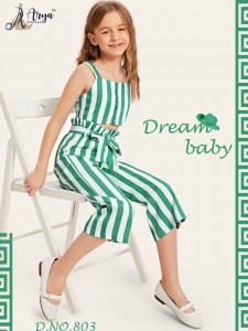 ADM DREAM BABY POLY RAYON DIGITAL PRINTED TOP WITH BOTTOM READYMADE CHILDREN WEAR WHOLESALE CATALOGUE