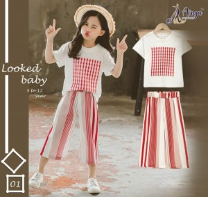 ADM PRESENTS LOOKED BABY POLI RAYON DIGITAL PRINT CHILDREN WEAR COLLECTION WHOLESALE