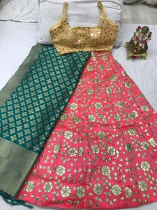 TEXTILE EXPO PRESENTS SILK WITH GOTA PATTI FANCY LEHENGA CHOLI COLLECTION AT WHOLESALE RATE
