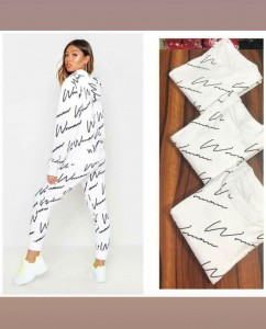 TEXTILE EXPO PRESENTS SIGNATURE 007 WOMENS STYLISH COTTON TRACKSUITS AT WHOLESALE RATE