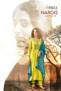 IBIZA PRESENTS NARGIS PURE SILK WITH FANCY EMBROIDERY WORK SALWAR SUITS AT WHOLESALE RATE