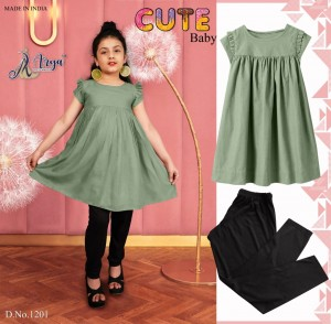 ADM PRESENTS CUTE BABY TOP WITH LEGGIS KIDS BEAUTIFUL COLLECTION AT MANUFACTURER PRICE