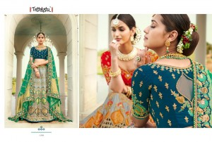 TATHASTU PRESENTS 4201-4211 SERIES FANCY DESIGNER WEDDING AND BRIDAL COLLECTION NEW DESIGN CHANYA CHOLI AT WHOLESALE PRICE