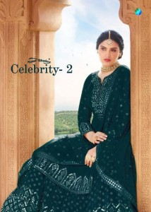 YOUR CHOICE LAUNCHED CELEBRITY VOL 2 GEORGETTE AND BUTTERFLY NET SALWAR SUITS AT WHOLESALE PRICE