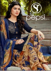 SWEETY FASHION LAUNCHED PEPSI VOL 11 RAYON SLUB WITH SWAROVSKI WORK SALWAR SUITS WHOLESALE CATALOGUE
