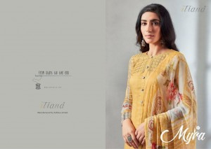 ITRANA PRESENTS MYRA COTTON SATIN DIGITAL PRINT EXCLUSIVE STYLISH SALWAR SUITS WHOLESALER