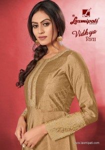 LAXMIPATI VIDHYA COTTON REGAL LOOK GOWN TYPE KURTIS WHOLESALE CATALOGUE