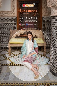 FEPIC ROSEMEEN SOBIA NAZIR LAWN COLLECTION NX CAMBRIC COTTON EXCLUSIVE PRINT PAKISTANI SUIT CATALOGUE AT WHOLESALE RATE