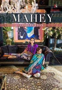 DEEPSY SUIT MAHEY PURE JAM COTTON PRINT WITH EMBROIDERY WORK PAKISTANI STYLE SALWAR SUITS WHOLESALE CATALOGUE