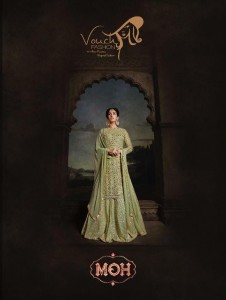 MAISHA VOUCH FASHION MOH NET FABRIC HEAVY GOWN PARTY WEAR COLLECTION WHOLESALE CATALOGUE
