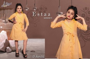 ADM ESTAA WESTERN VISCOSE KIDS COLLECTION WHOLESALE CATALOGUE