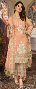 JUVI FASHION D NO JF 251 AND JF 256 GEORGETTE REGAL LOOK PAKISTANI SALWAR SUITS WHOLESALE CATALOGUE