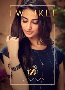 TZU TWINKLE RAYON INNOVATIVE STYLE GOWN WHOLESALE CATALOGUE