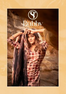 SWEETY FASHION RUBBY RAYON PRINT WITH MIRROR WORK DRESS MATERIAL SUITS WHOLESALE CATALOGUE