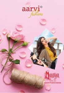 AARVI FASHIONS MAANYA VOL 23 FANCY EXCLUSIVE PREMIUM COLLECTION PARTY WEAR KURTIS WHOLESALE CATALOGUE