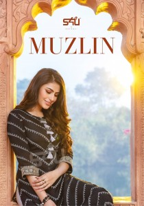 S4U BY SHIVALI LAUNCHED MUZLIN FABRIC MUSLIN PRINT WITH PETITE EMBROIDERIES WORK REGULAR WEAR KURTIS WHOLESALE CATALOGUE